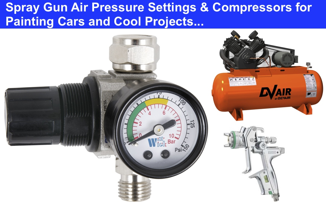 spray gun air pressure