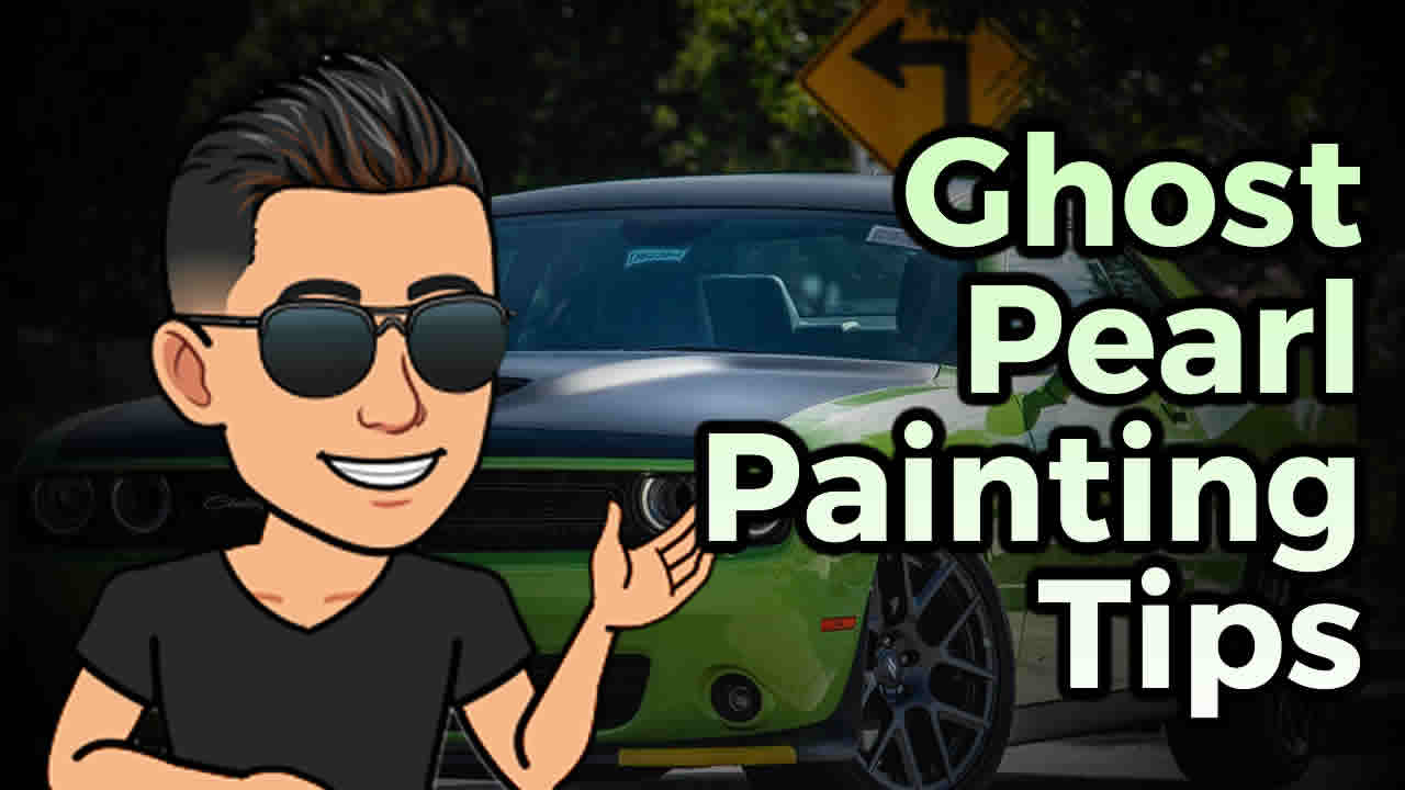 👻 Ghost Pearl Painting Tips – The Two Ways To Spray Pearls or Flake