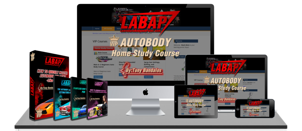 Learn Auto Body And Paint VIP Course