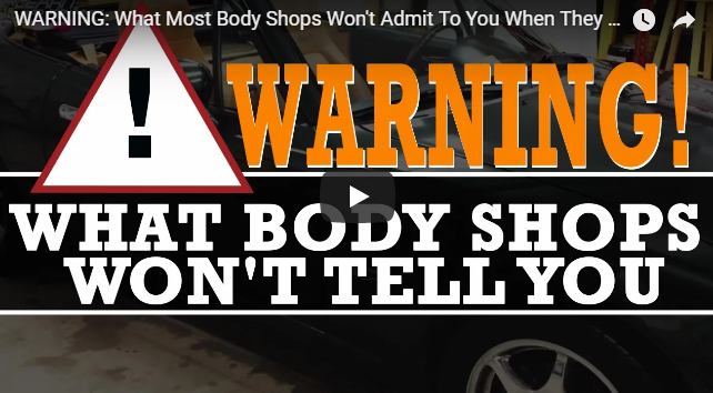 WARNING: What Most Body Shops Won't Admit To You When They Paint Your Car
