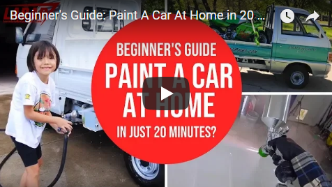 Beginner's Guide: Paint A Car At Home in 20 Minutes? Step-By-Step Car Painting In Your Garage