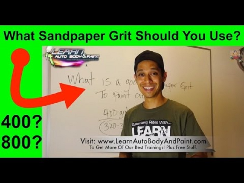 Correct Sandpaper Grit You Should Sand Your Car With – Before Paint!