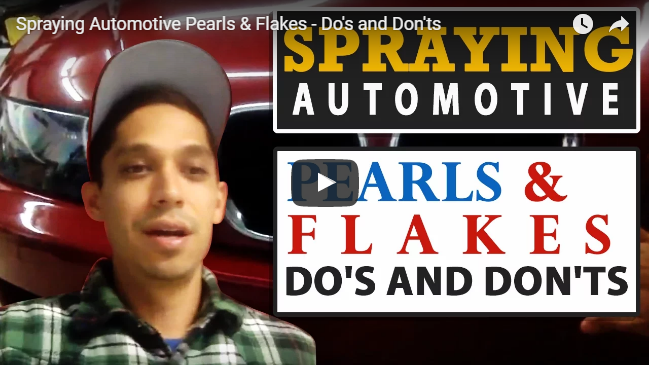 Spraying Automotive Pearls & Flakes – Do's and Don'ts