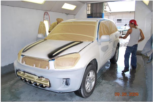 Diy auto body work archives page 7 of 7 how to paint your car discover how to apply auto primer part of the bodywork repair process steps include mixing auto primer filling your automotive spray gun applying auto solutioingenieria Images
